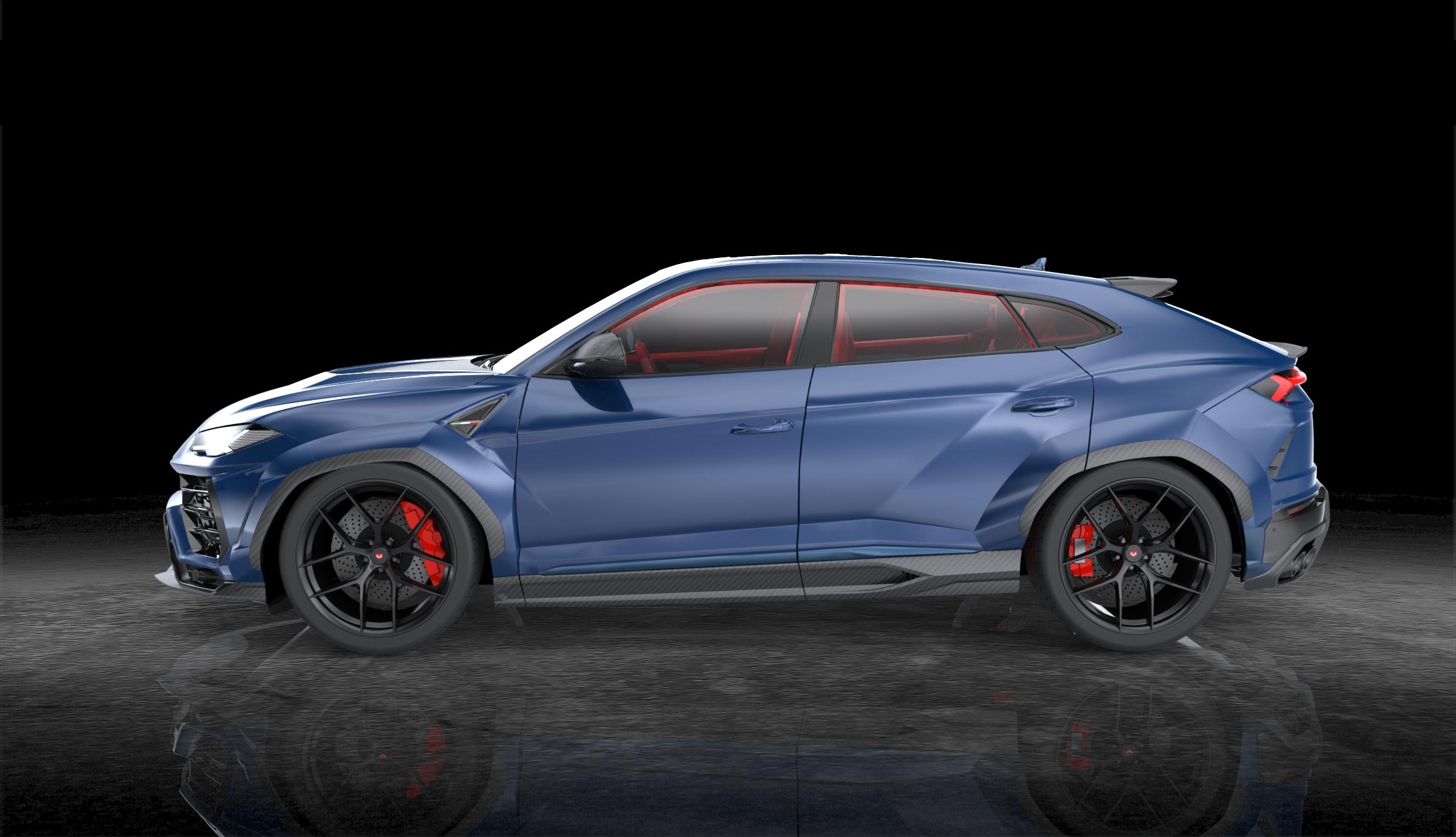 1016 INDUSTRIES LAMBORGHINI URUS Keage Concepts Calgary Alberta Automotive Design