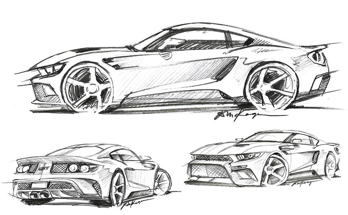 Gtt Sketches Keage Concepts Calgary Alberta Automotive Design