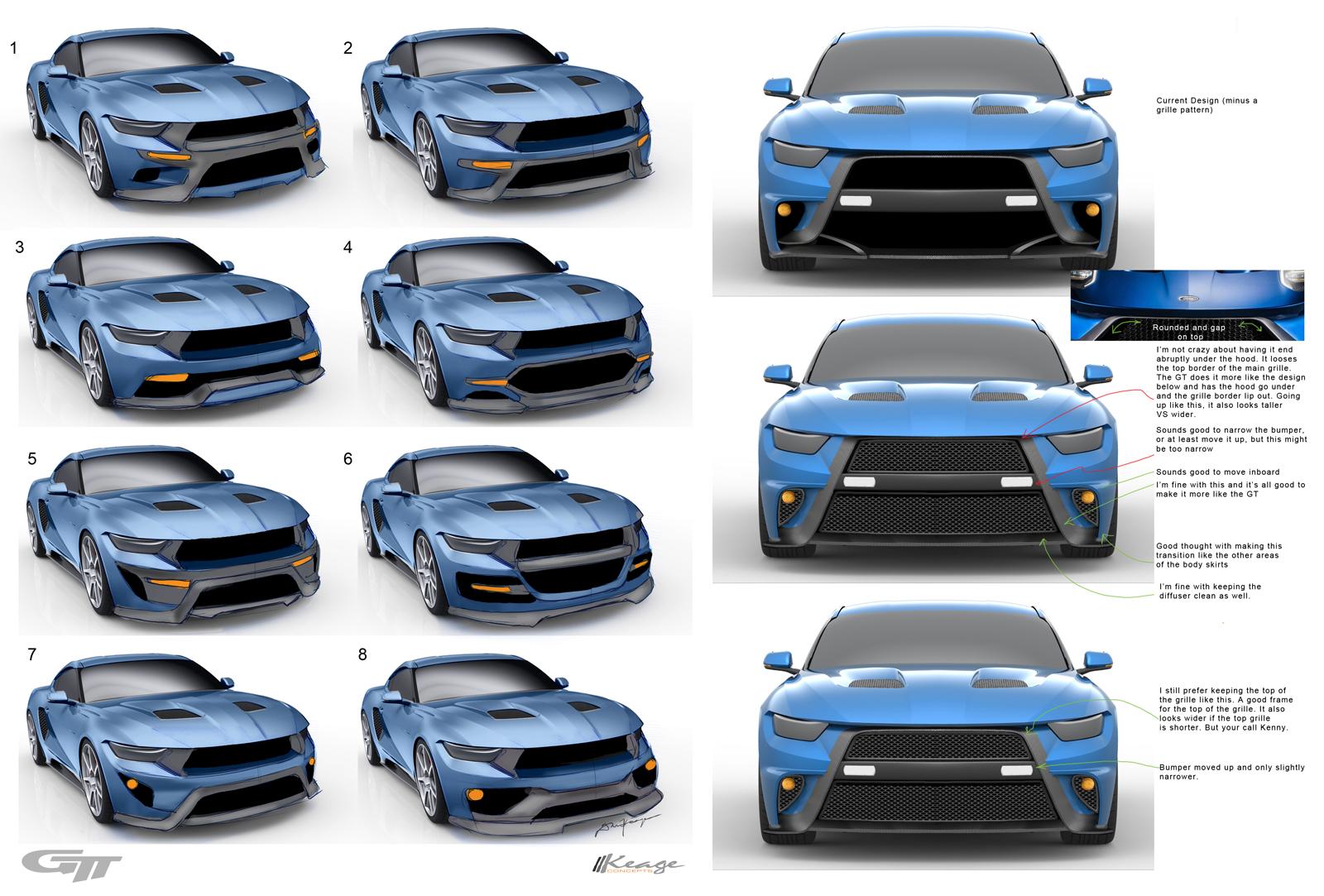 GTT Blue Keage Concepts Calgary Alberta Automotive Design