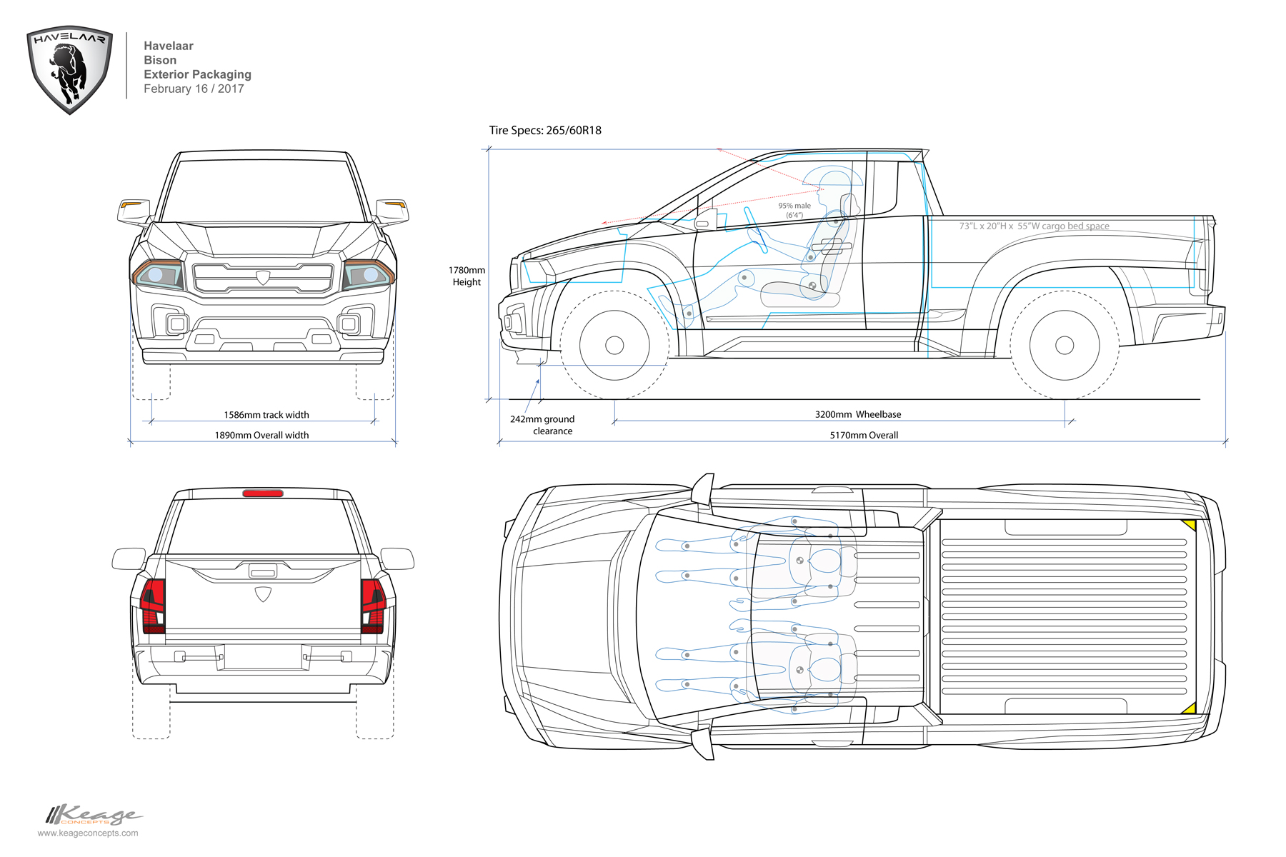 Havelaar-Bison Keage Concepts Calgary Alberta Automotive Design