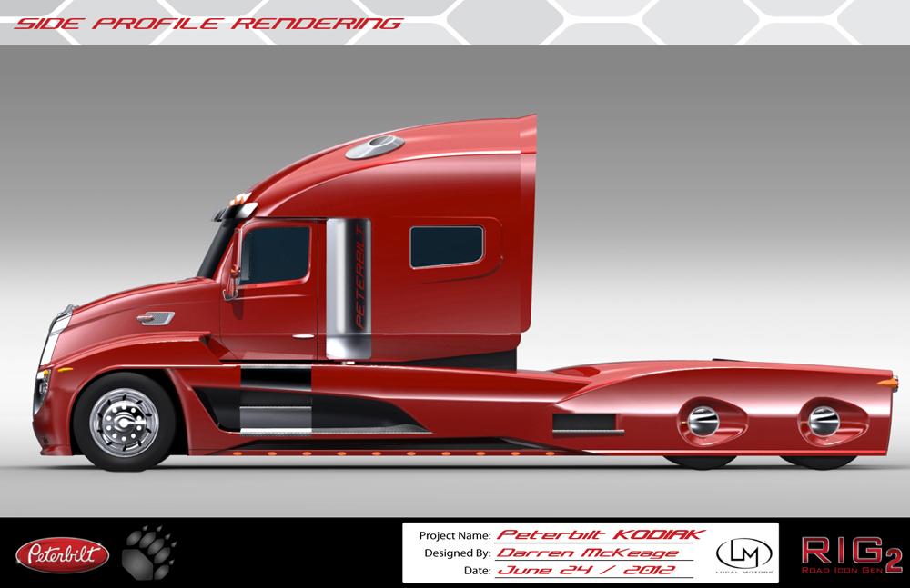 Peterbilt Kodiak Keage Concepts Calgary Alberta Automotive Design