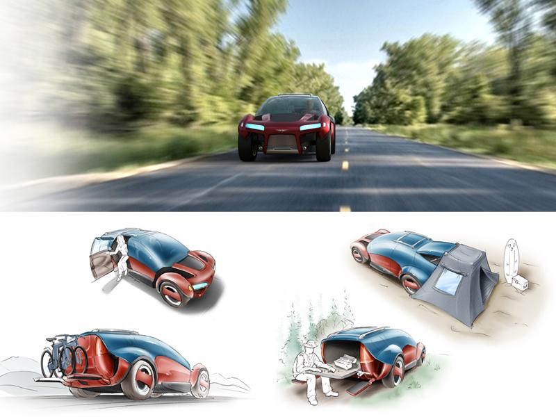 Versatile Performance VehicleKeage Concepts Calgary Alberta Automotive Design