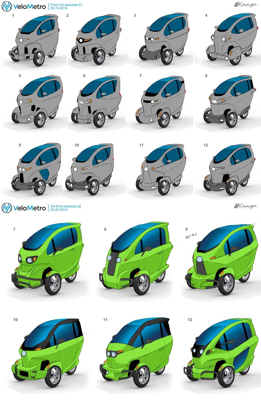 VELOMETRO VEEMOKeage Concepts Calgary Alberta Automotive Design