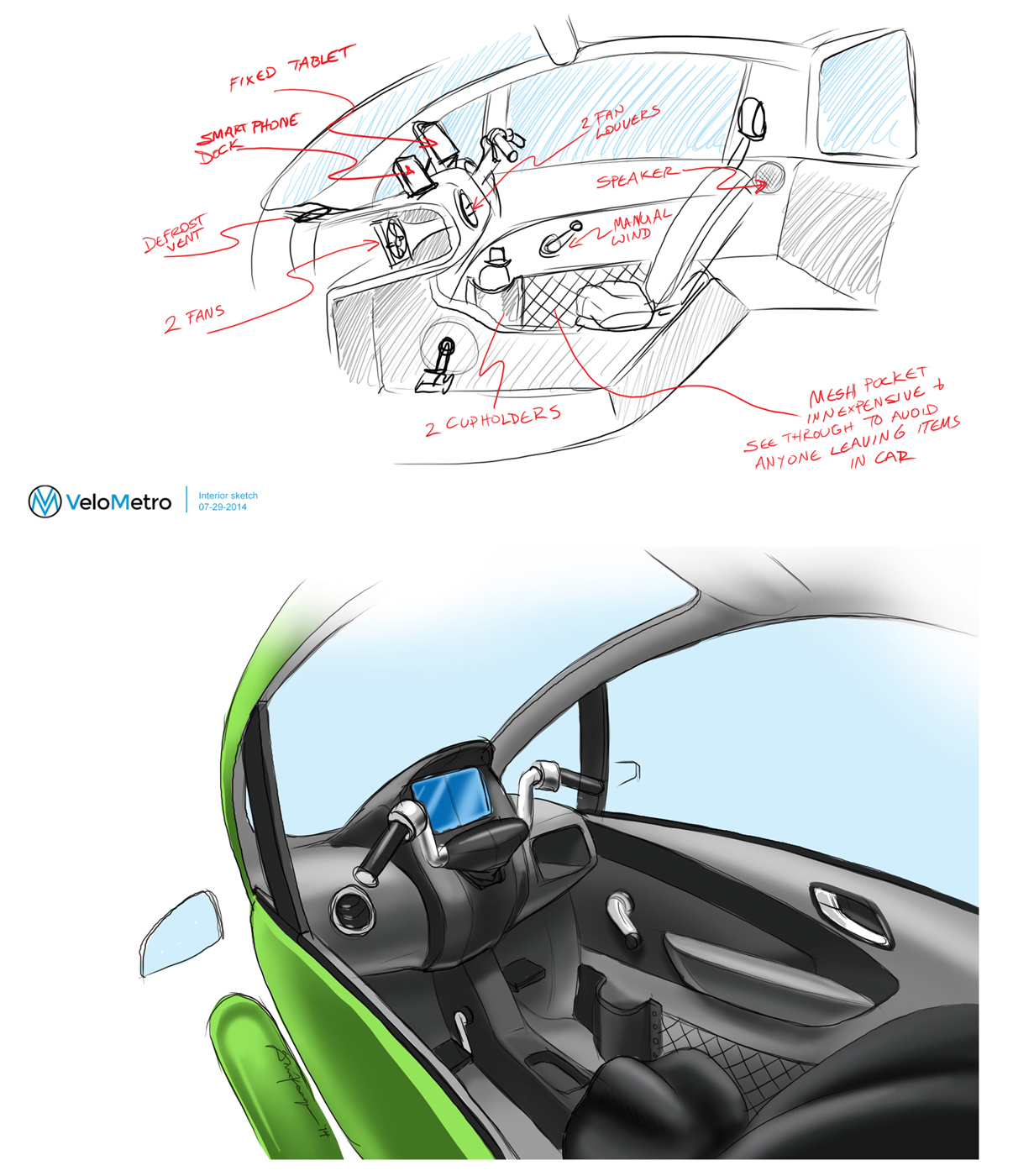 VELOMETRO VEEMO Keage Concepts Calgary Alberta Automotive Design