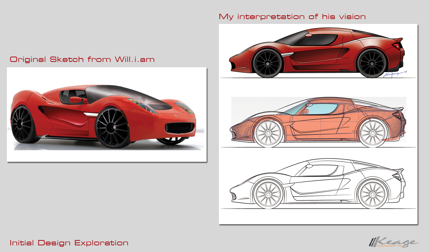 Will.i.am WCC Custom Tesla Keage Concepts Calgary Alberta Automotive Design