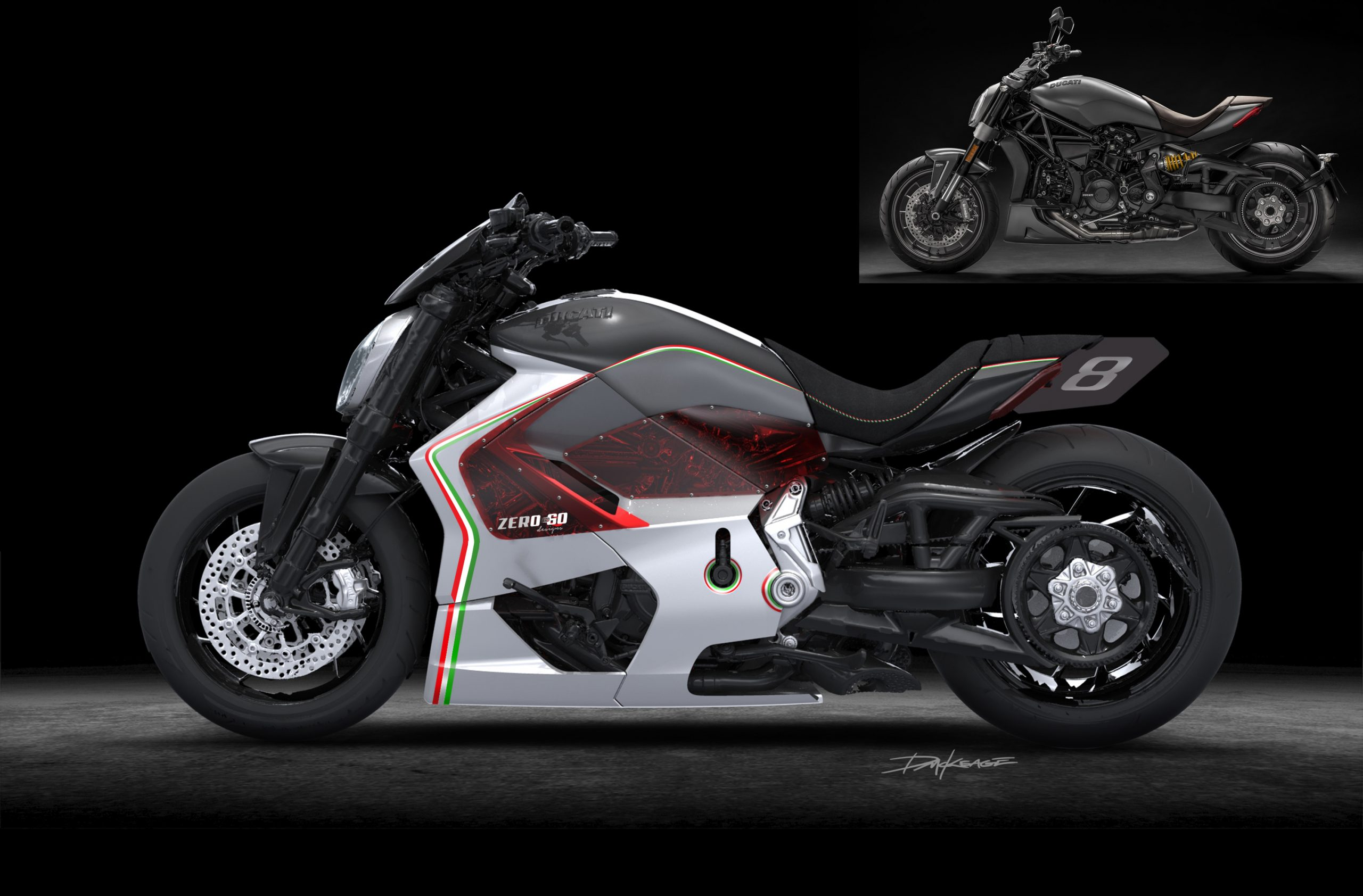XDiavel Keage Concepts Calgary Alberta Automotive Design