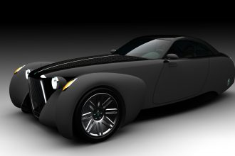 Triton Black Keage Concepts Calgary Alberta Automotive Design